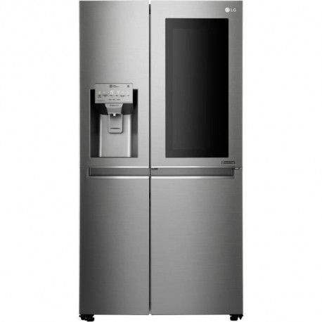 Refrigerateur americain LG - GSK6676SC - 601 L - No Frost - A++