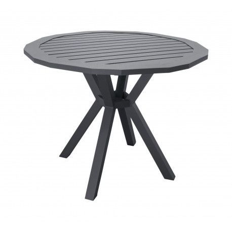 Table A Manger AYMA 110 en ALUMINIUM ANTHRACITE