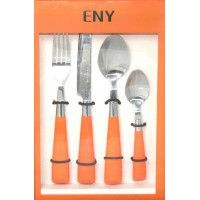 MENAGERE 24 PCS ORANGE ENY - 29483