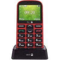 TELEPHONE PORTABLE DORO 1361 ROUGE