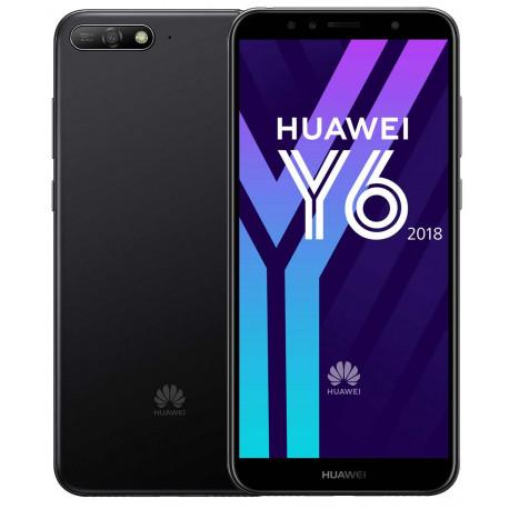 Huawei GSM PORTABLE SEUL HUAWEI Y 6 2018 NOIR