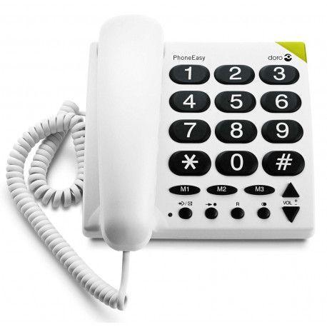 Doro TELEPHONE FILAIRE DORO PHONEEASY 311 C