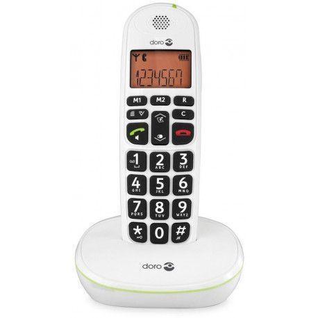 Doro TELEPHONE SANS FIL DORO PHONEEASY 100 W BLANC