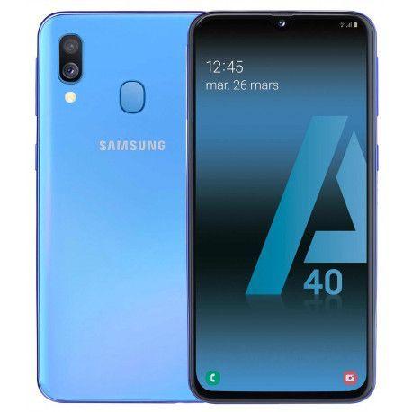 Samsung GSM PORTABLE SEUL SAMSUNG GALAXY A 40 BLEU