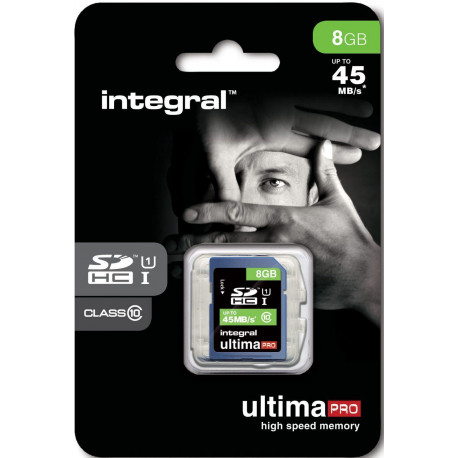 INTEGRAL CARTES MICRO SD INTEGRAL SDHC 8 GB-CL 10/45