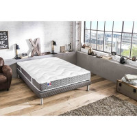 CONFORT DESIGN Matelas 140 x 190 - Latex - 19 cm - Ferme - BARCELONA
