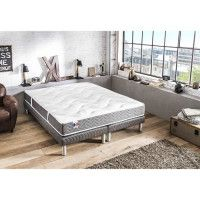 CONFORT DESIGN Matelas 160 x 200 - Latex - 19 cm - Ferme - BARCELONA