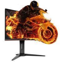AOC Ecran Gaming 24 pouces incurve - Dalle VA - 1ms - 144Hz - HDMI x2 / Displayport - FreeSync