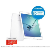 Pack SAMSUNG Galaxy Tab S2 + micro SD 64 Go offerte- 9,7 QXGA Super AMOLED - Stockage 32 Go -Octo Core - Memoire 3 Go