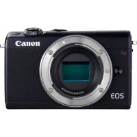 Canon EOS M100 Appareil photo numerique sans miroir 24.2 MP APS-C 1080p - 60 pi-s corps uniquement Wi-Fi, NFC, Bluetooth noir
