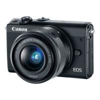 Appareil Photo Hybride CANON EOS M100 24 Mpx - Noir + EF-M 15-45 mm IS STM
