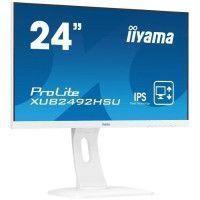 IIYAMA Ecran Prolite XUB2492HSU-W1 24 FHD - Dalle IPS LED - 4ms - 75 Hz - Display port/HDMI/VGA