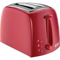RUSSELL HOBBS 21642-56 - Toaster Textures - 850 W - Rouge