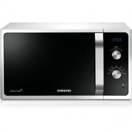 SAMSUNG MS23F300EAW/EF Micro-onde simple - Monofonction - 23 L - Blanc