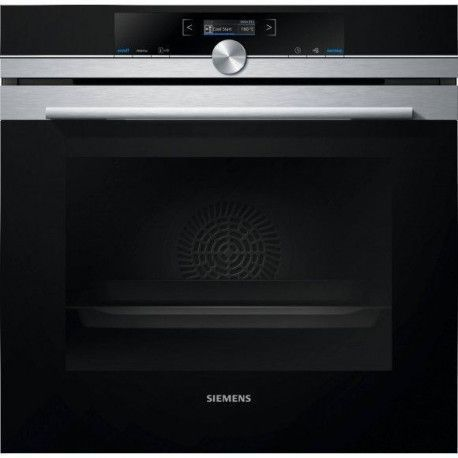 SIEMENS HB672GBS1F Four Encastrable 71L - Pyrolyse - Inox - Porte froide