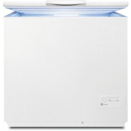 ELECTROLUX EC2830AOW2 Congélateur coffre - A + - 260 L - 32 h - Blanc - 2 paniers