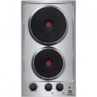 ELECTROLUX EHS3920HOX Domino électrique - 2 foyers - Inox - 29 cm