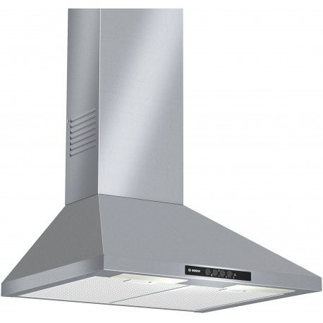 BOSCH DWW06W450 Hotte décorative - 67 dB - Evacuation ou recyclage - Inox