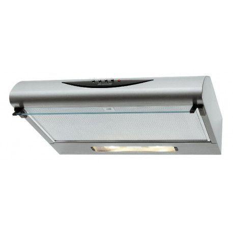 BRANDT AC500XF Hotte visière - 66 dB - Evacuation ou recyclage - Inox