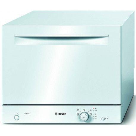BOSCH SKS51E22EU Lave-vaisselle 45 cm 6 couverts - A + - 48 dB - Blanc - 5 programmes