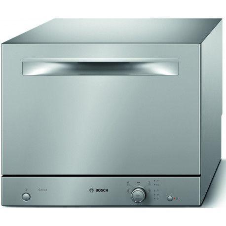 BOSCH SKS51E28EU Lave-vaisselle 45 cm 6 couverts - A + - 48 dB - Inox - 5 programmes