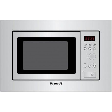 BRANDT ME1510X Micro-onde encastrable simple 20 L - 800 W - Inox