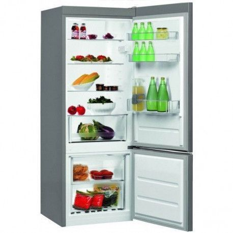 WHIRLPOOL BLFV8121OX Réfrigérateur - Congélateur en bas - A + - 227 L - 111 L - Inox