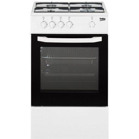 BEKO CSG42000WN Cuisinière gaz  - 56 L - Blanc