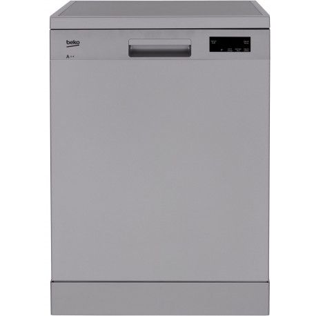 BEKO SDFN15310S Lave-vaisselle 60 cm 13 couverts - A + - 47 dB - Silver - 5 programmes