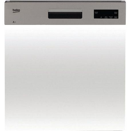 BEKO PDSN15310X Lave-vaisselle intégrable 60 cm 13 couverts - A + - 47 dB - Bandeau inox - 5 programmes
