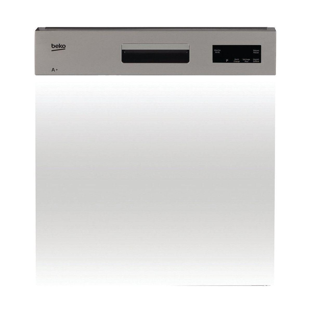 BEKO PDSN15310X Lave Vaisselle Intégrable 60 Cm 13 Couverts   A +   47 DB