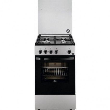 FAURE FCG510G1SA Cuisinière gaz - 61 L - Silver