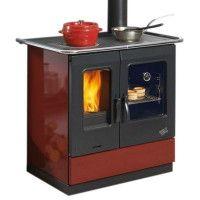 Cuisinière à Bois-ARMONIE-L 95,5 CM-6,5 KW-Rend. 85 %-CO 0,08 %-Ind. I GODIN - 241100CARMIN