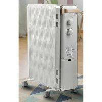 RADIATEUR BAIN D'HUILE - 3 allures - Thermostat - Hors-gel SUPRA - OASIS2503
