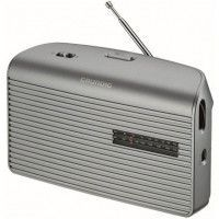 GRUNDIG MUSIC 60 LSL  Radio - Analogique - FM / AM / LW - Silver