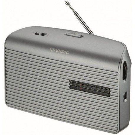 GRUNDIG MUSIC 60 LSL Radio - Analogique - FM / AM / LW - Silver