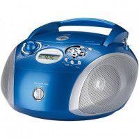 GRUNDIG RCD 1445 BL Radio CD - 2 x 1 W Puissance - CD, MP3, USB - Bleu - MP3