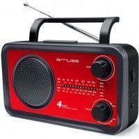 MUSE M 05 RED  Radio - Analogique - FM/MW/LW/SW - Rouge