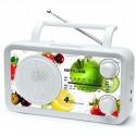 MUSE M 05 VF Radio - Analogique - FM/MW - Blanc