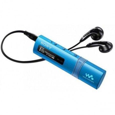 SONY NWZB 183 FL Baladeur audio mp3 - 4 Go - Tuner FM - Bleu