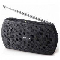 SONY SRF 18 B  Radio - Analogique - AM/FM - Noir