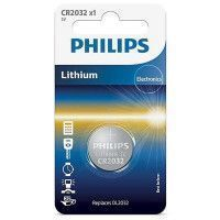 Piles BOUTON LONGLIFE 3.0V coin 1-blister (20.0 x 3.2) PHILIPS - CR2032/01B