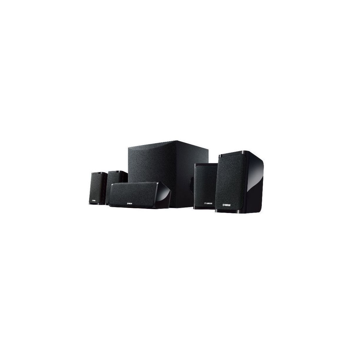 pack home cinema yamaha yht4950bl gpasplus. Black Bedroom Furniture Sets. Home Design Ideas