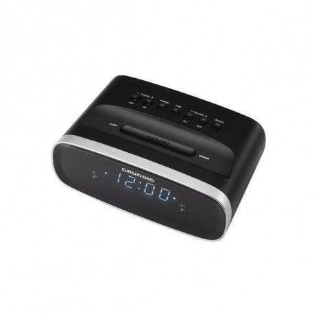 Grundig Radio réveil FM - Double alarme - Luminosité réglable - Affichage blanc GRUNDIG - SCN130