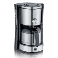 CAFETIERE ISOTHERME 1000W 1,4L NOIR INOX SEVERIN - 4845