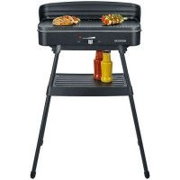 PLANCHA GRILL SUR PIEDS 2000W 49X24CM TH° SEVERIN - 8533
