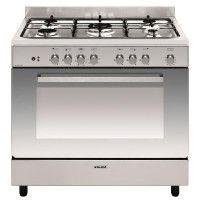 Cuisinière e-Cooker 90 x 60 cm inox - Four électrique multifonction cat GLEM - GE960CBIX2
