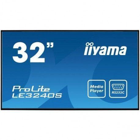 IIYAMA LE 3240 S-B 1 Ecran PC - 32 pouces - 8 ms - 350 cd/m² - Noir