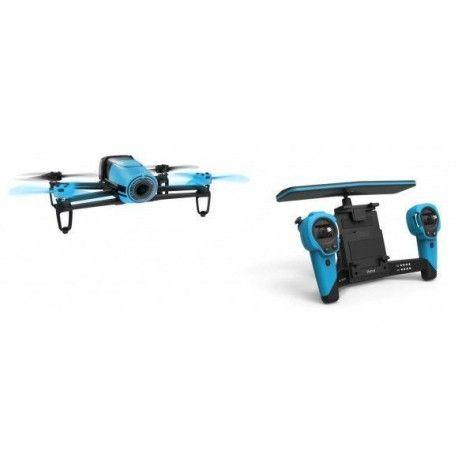PARROT Drone et avion connecté - BeBop Drone + Skycontroller - Bleu - (PF 725101)