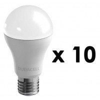 AMPOULE LED E27 DURACELL PACK 10 X A 130 N 27 B 1
